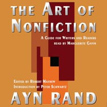 The Art of Nonfiction by Ayn Rand audiobook