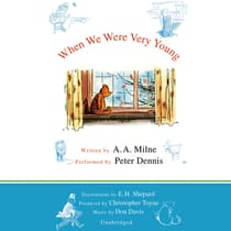 When We Were Very Young by A. A. Milne audiobook