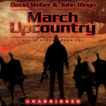 March Upcountry by David Weber audiobook