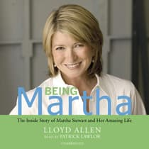 Being Martha by Lloyd Allen audiobook