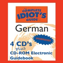 The Complete Idiot's Guide™ to German by Linguistics Team audiobook