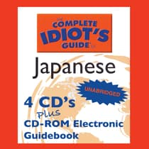 The Complete Idiot's Guide™ to Japanese by Linguistics Team audiobook
