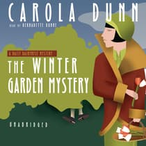 The Winter Garden Mystery by Carola Dunn audiobook