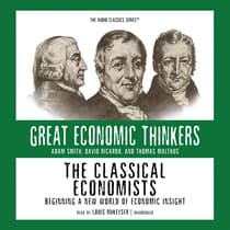 The Classical Economists by E. G. West audiobook