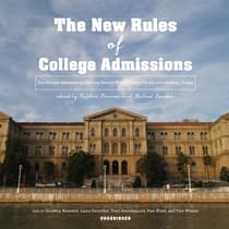 The New Rules of College Admissions by Stephen Kramer audiobook