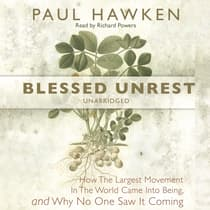 Blessed Unrest by Paul Hawken audiobook
