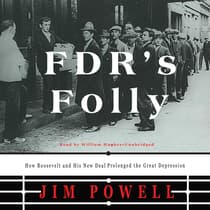 FDR's Folly by Jim Powell audiobook