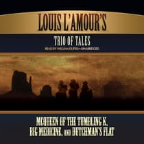 Louis L'Amour's Trio of Tales by Louis L'Amour audiobook