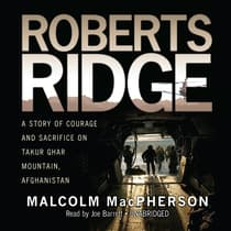 Roberts Ridge by Malcolm MacPherson audiobook