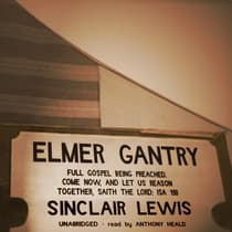 Elmer Gantry by Sinclair Lewis audiobook