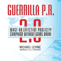 Guerrilla P.R. 2.0 by Michael Levine audiobook