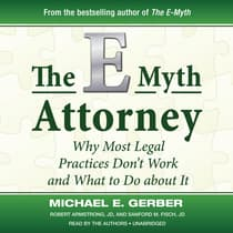 The E-Myth Attorney by Michael E. Gerber audiobook