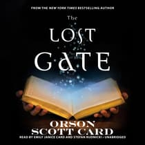 The Lost Gate by Orson Scott Card audiobook
