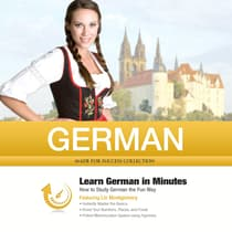 German in Minutes by Made for Success audiobook