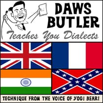 Daws Butler Teaches You Dialects by Charles Dawson Butler audiobook