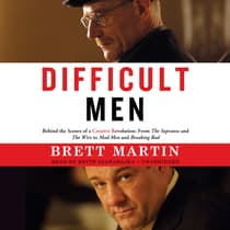 Difficult Men by Brett Martin audiobook