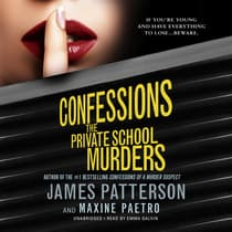 Confessions by James Patterson audiobook