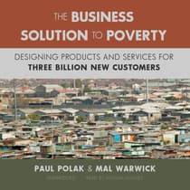 The Business Solution to Poverty by Paul Polak audiobook
