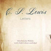 Letters by C. S. Lewis audiobook