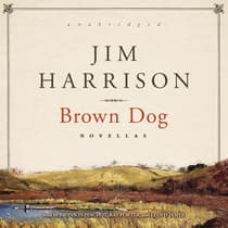 Brown Dog by Jim Harrison audiobook