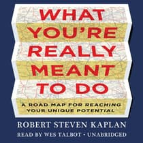 What You're Really Meant to Do by Robert Steven Kaplan audiobook