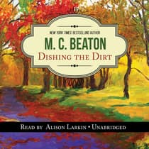 Dishing the Dirt by M. C. Beaton audiobook