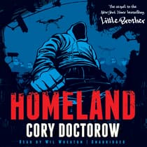 Homeland by Cory Doctorow audiobook