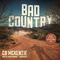Bad Country by CB McKenzie audiobook