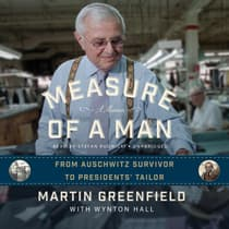 Measure of a Man by Martin Greenfield audiobook