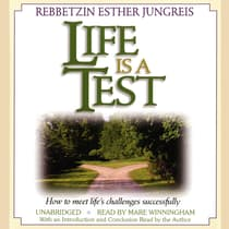 Life Is a Test by Esther Jungreis audiobook