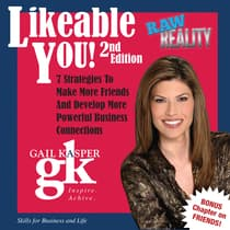 Likeable You by Gail Kasper audiobook