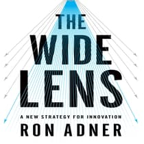 The Wide Lens by Ron Adner audiobook