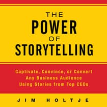 The Power Storytelling by Jim Holtje audiobook