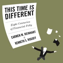 This Time is Different by Carmen  M. Reinhart audiobook