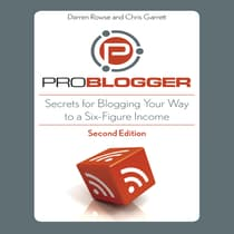 ProBlogger by Darren Rowse audiobook