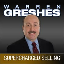 Supercharged Selling by Warren Greshes audiobook