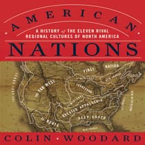 American Nations by Colin Woodard audiobook
