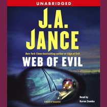 Web of Evil by J. A. Jance audiobook