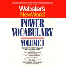Webster's New World Power Vocabulary by Elizabeth Morse-Cluley audiobook
