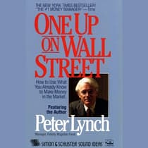 One Up On Wall Street by Peter Lynch audiobook