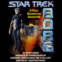Star Trek Borg by Hilary Bader audiobook