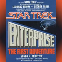 Star Trek Enterprise: the First Adventure by Vonda N. McIntyre audiobook