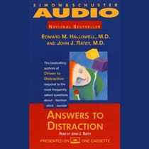 Answers to Distraction by Edward M. Hallowell audiobook
