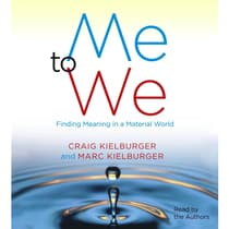 Me to We by Craig Kielburger audiobook