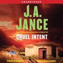 Cruel Intent by J. A. Jance audiobook