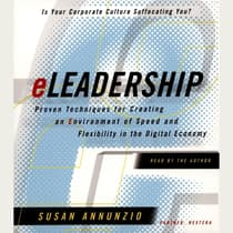 eLeadership by Susan Annunzio audiobook