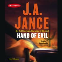 Hand of Evil by J. A. Jance audiobook