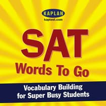SAT Words to Go by Kaplan audiobook