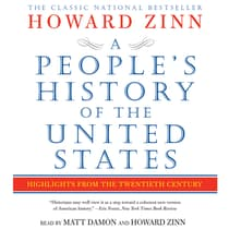 A People's History of the United States by Howard Zinn audiobook