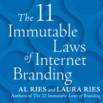 The 11 Immutable Laws of Internet Branding by Al Ries audiobook